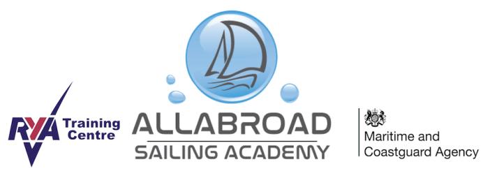RYA and MCA Sailing course provider